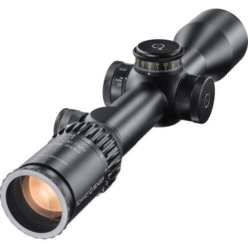 Schmidt & Bender 3-20x50 PM II Ultra-Short Riflescope (P4FL Reticle, Black)