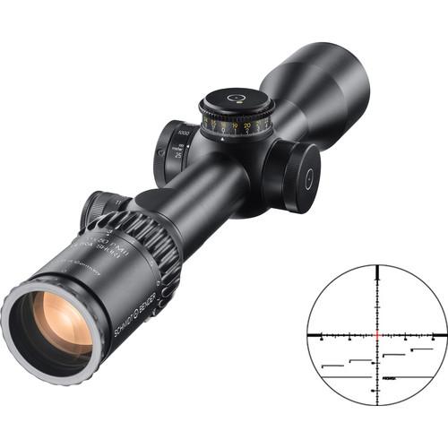 Schmidt & Bender 3-20x50 PM II Ultra-Short Riflescope (P4FL-MOA Reticle, Black)
