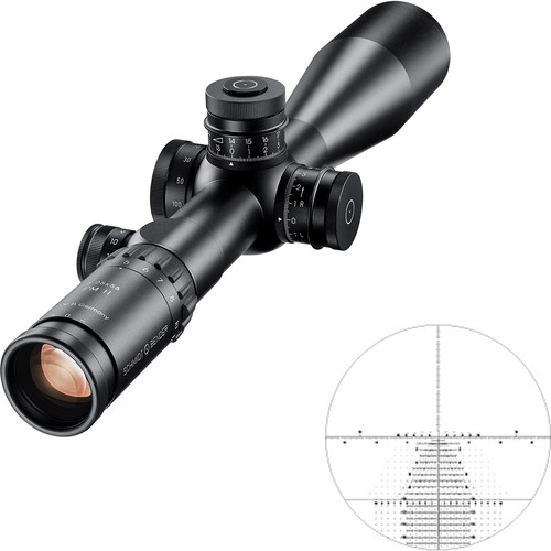 Schmidt & Bender 5-25x56 PM II Riflescope (Black, TreMoR3 Reticle)