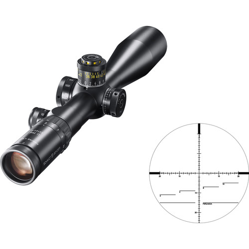 Schmidt & Bender 5-25x56 PM II Riflescope (Black, P4FL2-MOA Reticle)