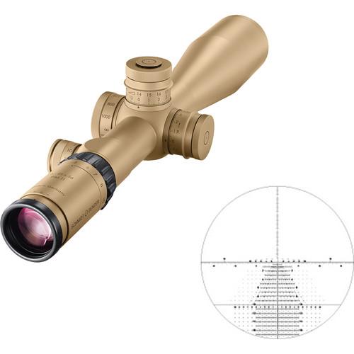 Schmidt & Bender 5-25x56 PM II Riflescope (RAL 8000 Tan, TreMoR3 Reticle)