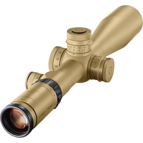 Schmidt & Bender 5-25x56 PM II/LP/MTC/LT Riflescope (H59 Reticle, mrad / CW Rotation, Glossy Tan)