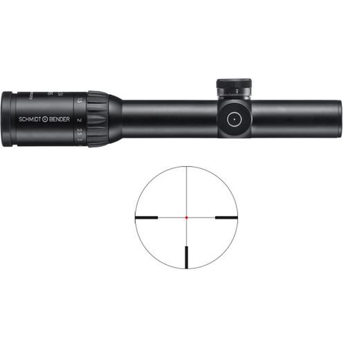 Schmidt & Bender 1.1-5x24 Stratos Riflescope (FD7 Reticle)