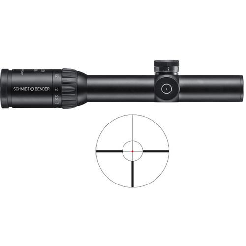 Schmidt & Bender 1.1-5x24 Stratos Riflescope (FD9 Reticle)