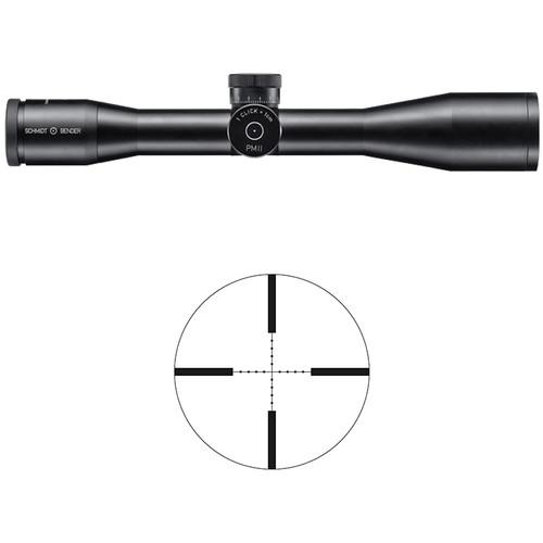 Schmidt & Bender 10x42 PM Riflescope (Matte Black, P3 Reticle)