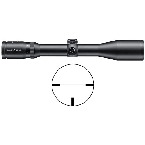 Schmidt & Bender 3-12x42 Klassik Riflescope (A7 Duplex Reticle)