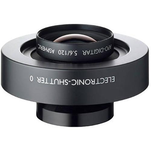 Schneider 120mm f/5.6 Apo-Digitar Aspherical Lens in a Copal #0 Shutter