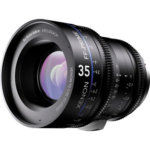 Schneider Xenon FF 35mm T2.1 Lens with Nikon F Mount (Feet)