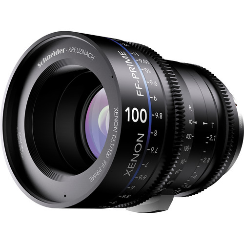 Schneider Xenon FF 100mm T2.1 Lens with Canon EF Mount (Feet)