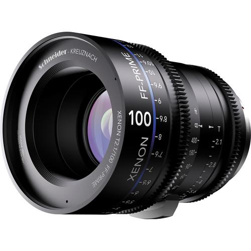 Schneider Xenon FF 100mm T2.1 Lens with Nikon F Mount (Feet)