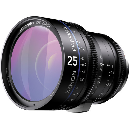 Schneider Xenon FF 25mm T2.1 Lens with ARRI PL Mount (Feet)