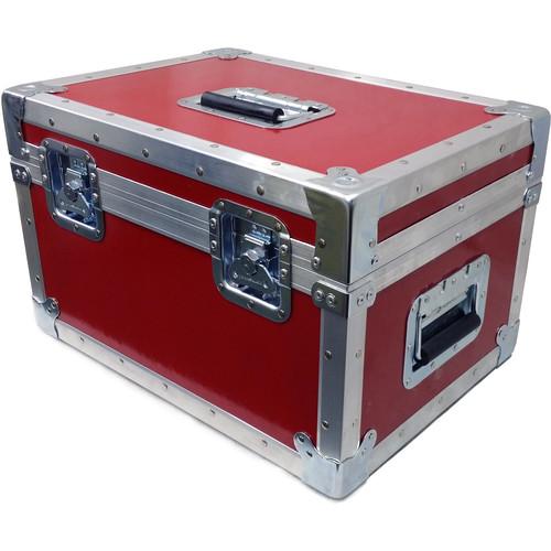 Schneider Hard Case for 6 Xenon FF T2.1 Lenses (Red)