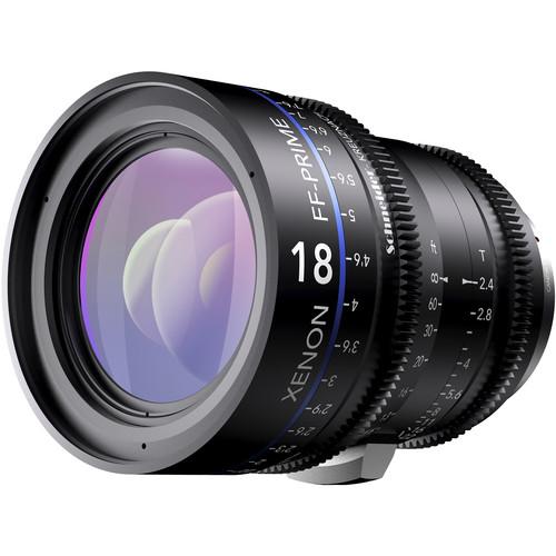 Schneider Xenon FF 18mm T2.4 Lens with Nikon F Mount (Feet)