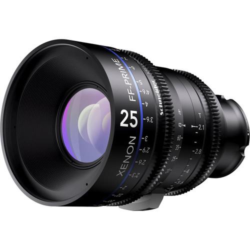 Schneider Xenon FF 25mm T2.1 Lens (E Mount, Meters)