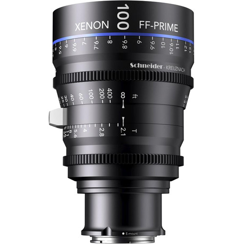 Schneider Xenon FF 100mm T2.1 Lens with Sony E Mount (Meters)