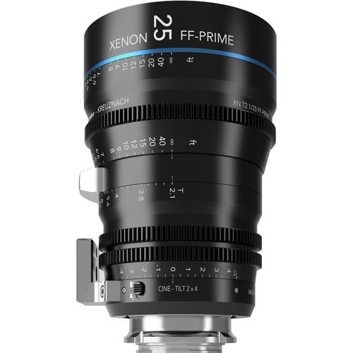 Schneider FF Prime Cine-Tilt 25mm T2.1 Sony E-Mount Lens (Meters)
