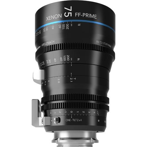 Schneider FF Prime Cine-Tilt 75mm T2.1 Sony E-Mount Lens (Feet)
