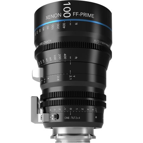 Schneider FF Prime Cine-Tilt 100mm T2.1 Sony E-Mount Lens (Feet)
