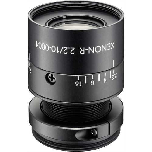 "Schneider Xenon-Ruby f/2.2 / 10mm C-Mount Lens for 1/1.8"" Sensors"