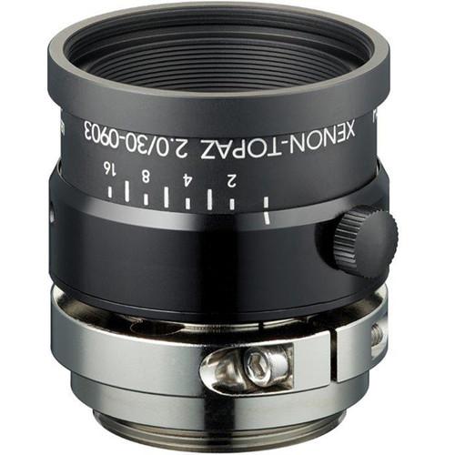 """Schneider Xenon-Topaz 30mm f/2.0 C-Mount Lens for 1.1"""" Sensors"""