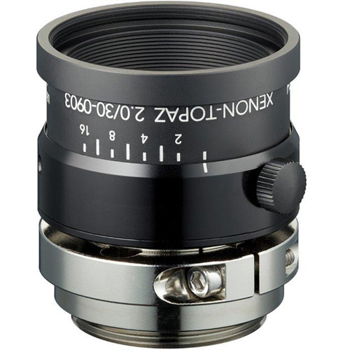 "Schneider Xenon-Topaz 30mm f/2.0 C-Mount Lens for 1.1"" Sensors"