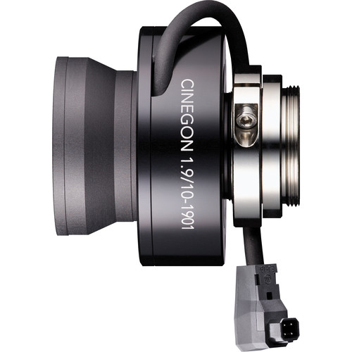 Schneider C-Mount 10mm f/1.9-16 Cinegon Motorized Compact P-Iris Lens with Lockable Focus