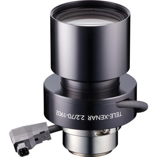 Schneider C-Mount 70mm f/2.2 Tele-Xenar Motorized Compact P-Iris Lens with Lockable Focus