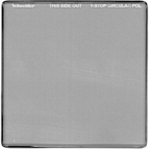 "Schneider 4 x 4"" One-Stop Circular Polarizer Square Filter"