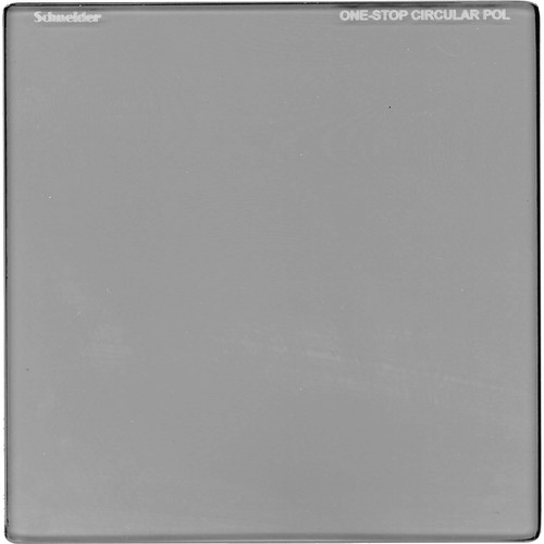 "Schneider 5.65 x 5.65"" One-Stop Circular Polarizer Square Filter"