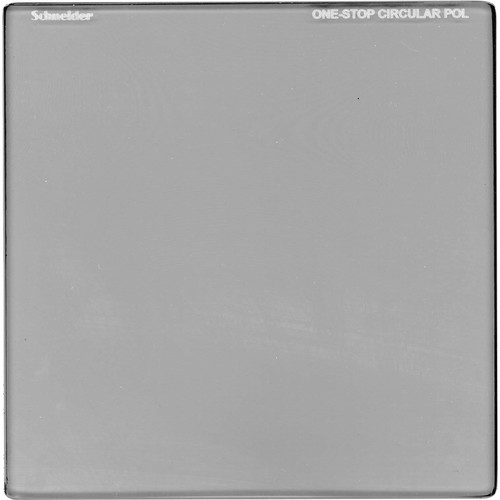 "Schneider 5 x 5"" One-Stop Square Circular Polarizer Filter"