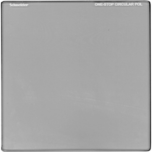 "Schneider 6.6 x 6.6"" One-Stop Circular Polarizer Square Filter"