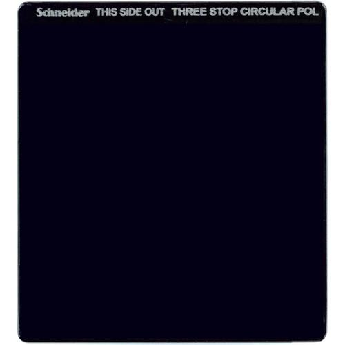 """Schneider 6.6 x 6.6"""" Neutral Density 0.9 Circular Polarizer Filter (3-Stop)"""