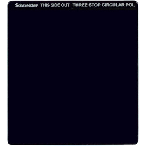 "Schneider 6.6 x 6.6"" Neutral Density 0.9 Circular Polarizer Filter (3-Stop)"