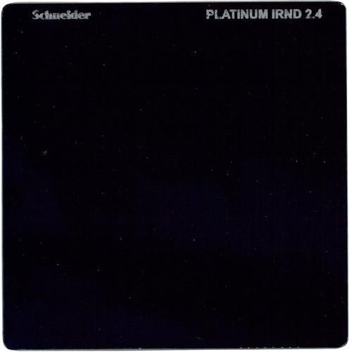 """Schneider 4 x 4"""" Platinum IRND 2.4 Filter (8 Stop)"""