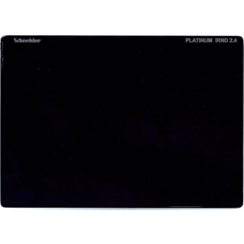 """Schneider 4 x 5.65"""" Platinum IRND 2.4 Filter (8 Stop)"""