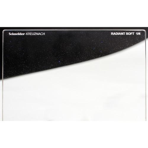"""Schneider 4 x 5.65"""" Radiant Soft 1/4 Filter"""