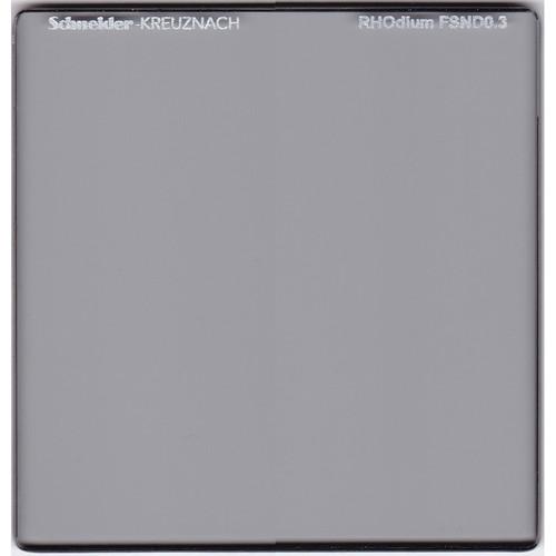 """Schneider 6.6 x 6.6"""" RHOdium Full Spectrum Neutral Density (FSND) 0.3 Filter"""