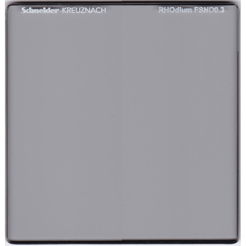 "Schneider 6.6 x 6.6"" RHOdium Full Spectrum Neutral Density (FSND) 0.3 Filter"