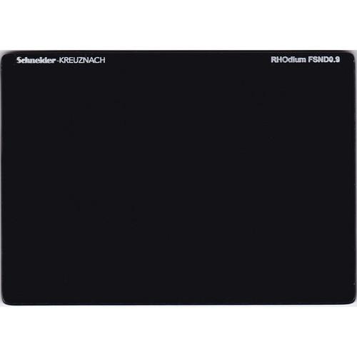 """Schneider 4 x 5.65"""" RHOdium Full Spectrum Neutral Density (FSND) 0.9 Filter"""