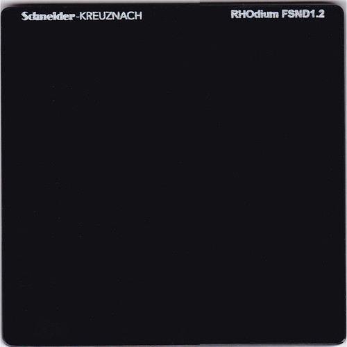 "Schneider 6.6 x 6.6"" RHOdium Full Spectrum Neutral Density (FSND) 1.2 Filter"