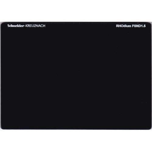 """Schneider 4 x 5.65"""" RHOdium Full Spectrum Neutral Density (FSND) 1.5 Filter"""
