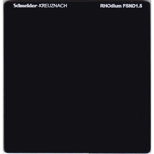 """Schneider 6.6 x 6.6"""" RHOdium Full Spectrum Neutral Density (FSND) 1.5 Filter"""