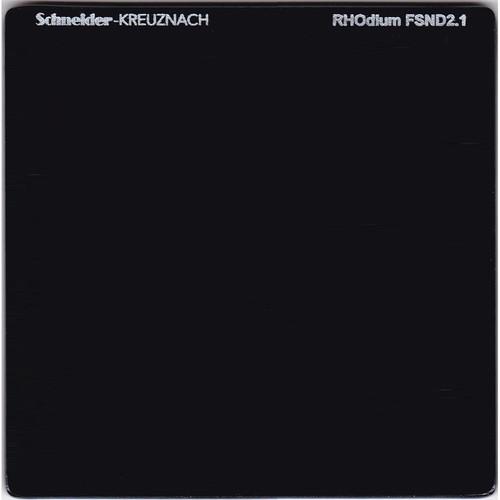 """Schneider 6.6 x 6.6"""" RHOdium Full Spectrum Neutral Density (FSND) 2.1 Filter"""