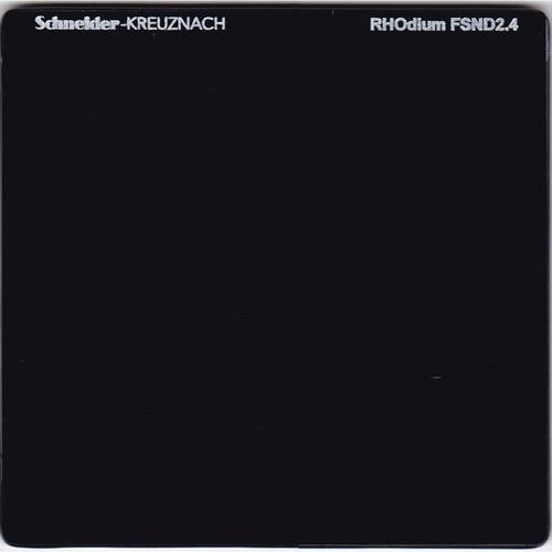 """Schneider 6.6 x 6.6"""" RHOdium Full Spectrum Neutral Density (FSND) 2.4 Filter"""