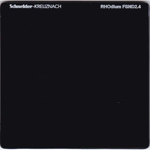 "Schneider 6.6 x 6.6"" RHOdium Full Spectrum Neutral Density (FSND) 2.4 Filter"
