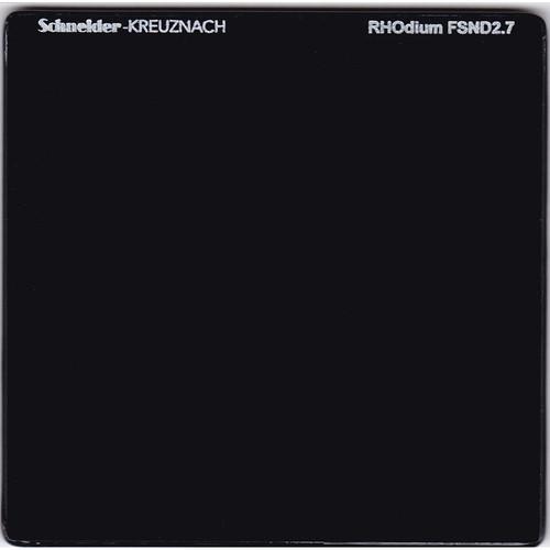 """Schneider 6.6 x 6.6"""" RHOdium Full Spectrum Neutral Density (FSND) 2.7 Filter"""