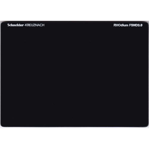 """Schneider 4 x 5.65"""" RHOdium Full Spectrum Neutral Density (FSND) 3.0 Filter"""