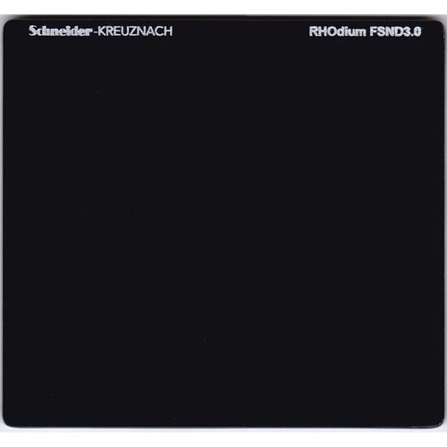 """Schneider 6.6 x 6.6"""" RHOdium Full Spectrum Neutral Density (FSND) 3.0 Filter"""