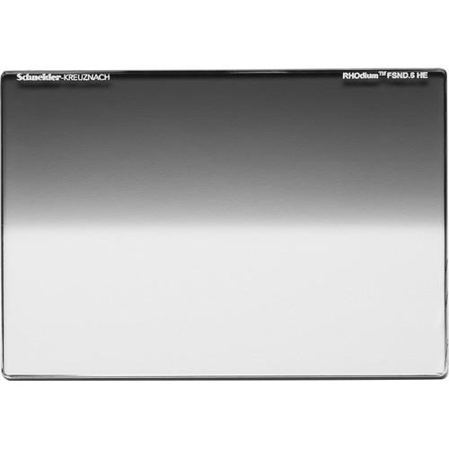 """Schneider 6.6 x 6.6"""" RHOdium Full-Spectrum Hard-Edge Graduated ND 0.6 Filter"""