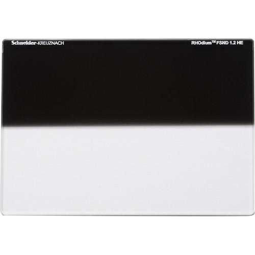 """Schneider 6.6 x 6.6"""" RHOdium Full-Spectrum Hard-Edge Graduated ND 1.2 Filter"""